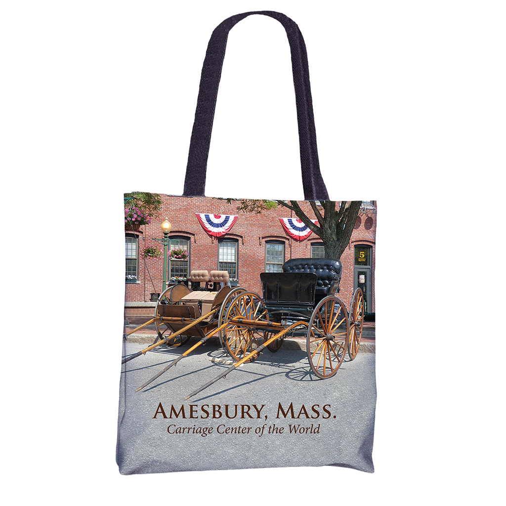 Amesbury Carriages Tote Bag