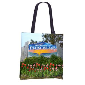 Plum Island Welcome Tote Bag - photo by Christine Green