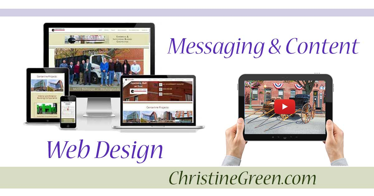 Logo graphic - Web Design - Messaging and Content